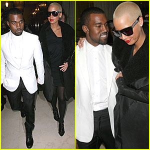 Amber Rose & Kanye West are a Couture Couple