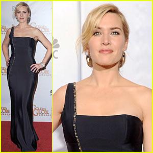 Kate Winslet - Golden Globes 2010 Red Carpet
