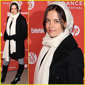 Katie Holmes Gets Sundance Sexy