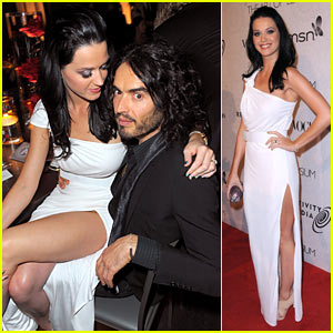 Katy Perry & Russell Brand: Art of Elysium Engaged