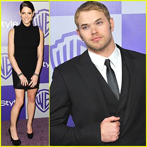 Kellan Lutz & Ashley Greene: 'Twilight' Comes to the Golden Globes!