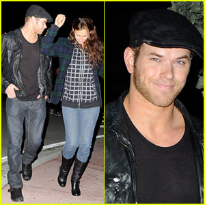 Kellan Lutz Smells Phish-y
