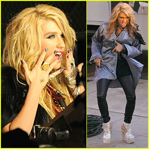 Ke$ha - 'Blah Blah Blah' Music Video Preview!