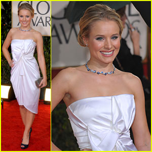 Kristen Bell - Golden Globes 2010 Red Carpet