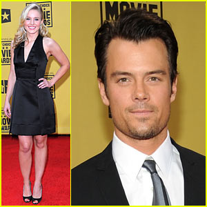 Kristen Bell & Josh Duhamel: When At The Critics Choice Awards...