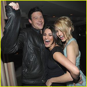 Lea Michele & Cory Monteith: 'Glee' Renewed for Second Season!