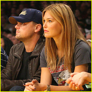 Leonardo DiCaprio & Bar Refaeli: Lakers Lovers!