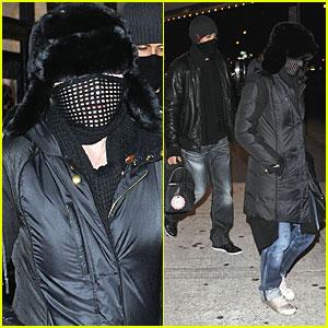 Madonna & Jesus Luz: Masked 'Avatars'