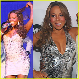 Mariah Carey Glitters For New Year's