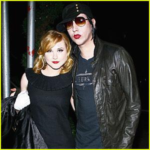 Marilyn Manson & Evan Rachel Wood: Engaged?