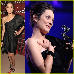 Marion Cotillard is Desert Palm Perfect