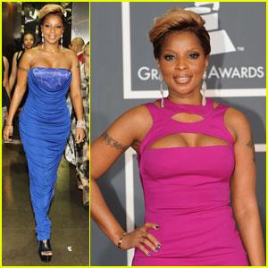 Mary J. Blige - Grammys 2010 Red Carpet