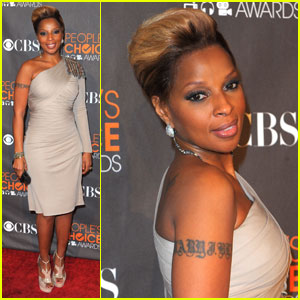 Mary J. Blige: People's Choice Awards 2010