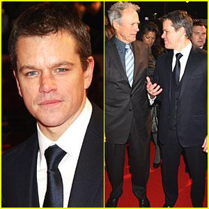 Matt Damon Brings 'Invictus' to England
