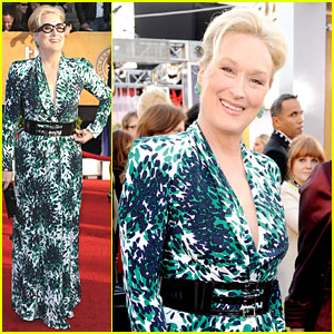Meryl Streep - SAG Awards 2010 Red Carpet