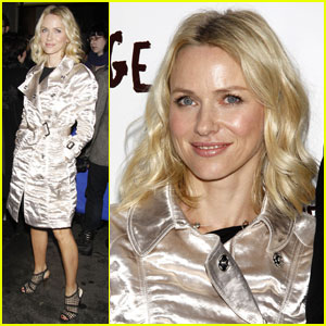 Naomi Watts is Shiny And Chic!