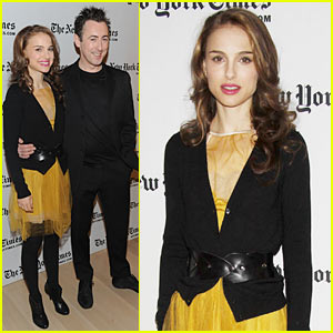 Natalie Portman & Alan Cumming: NYT Arts & Leisure Weekend!