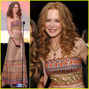 Nicole Kidman: SAG Awards Smiley