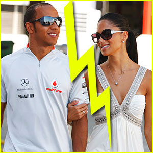 Nicole Scherzinger & Lewis Hamilton Split