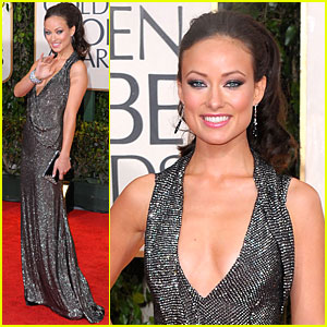 Olivia Wilde - Golden Globes 2010 Red Carpet