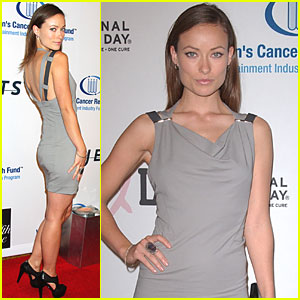 Olivia Wilde is Unforgettable Evening Elated