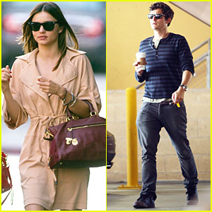 Orlando Bloom & Miranda Kerr Do Brunch and Late Lunch!