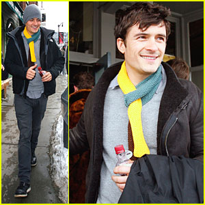 Orlando Bloom: Pom in Park City