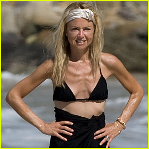 Rachel Zoe: Bikini in St. Bart's!