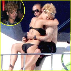 Rihanna: I'm On A Boat! ...with Matt Kemp