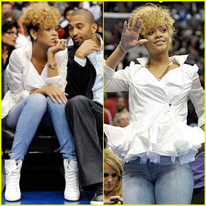 Rihanna & Matt Kemp: Clippers Couple