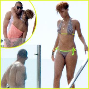 Rihanna & Matt Kemp: Mexico Mates