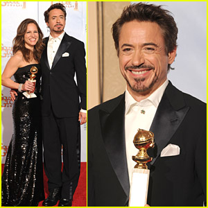 Robert Downey Jr. Wins Golden Globe - Best Actor