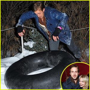 Ryan Gosling: T-Mobile Tubing!