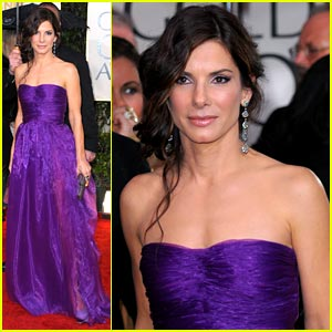 Sandra Bullock - Golden Globes 2010 Red Carpet
