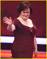 Susan Boyle Comes Home, Finds Intruder