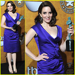 Tina Fey - SAG Awards 2010 Red Carpet