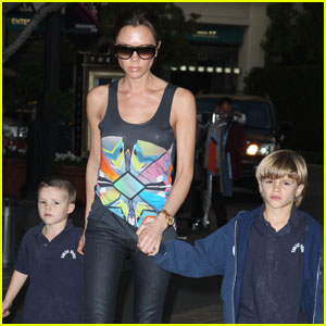 Victoria Beckham: Family Feature Fun