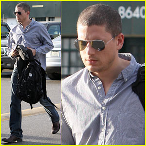 Wentworth Miller: North Face Forward