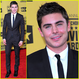 Zac Efron Addresses Spider-Man Rumors at Critics' Choice Awards 2010