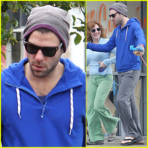 Zachary Quinto: The Flag Has Been Planted!
