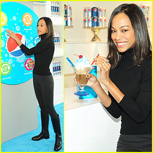 Zoe Saldana: Refresh Everything!