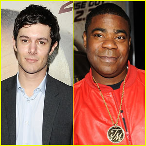 Adam Brody Cops Out with Tracy Morgan