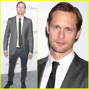 Alexander Skarsgard: Calvin Klein After-Party with Kate Bosworth!