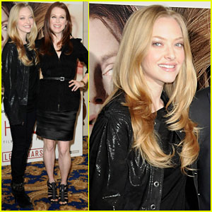 Amanda Seyfried & Julianne Moore: Chloe Photocall in Paris!