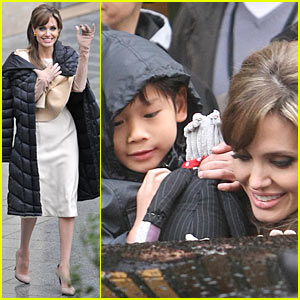 Angelina Jolie Pax a Punch