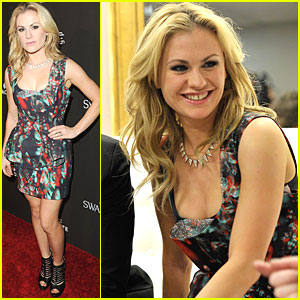 Anna Paquin Vamps It Up at Costume Designers Guild Awards