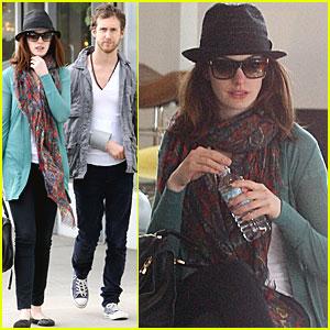 Anne Hathaway & Adam Shulman Find Furniture