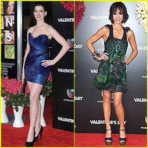 Anne Hathaway & Jessica Alba: 'Valentine's Day' Vixens