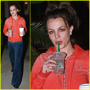 Britney Spears Clamors For Coffee