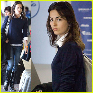 Camilla Belle Takes Flight
